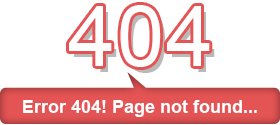 Error 404! Page not found...